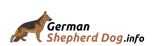 German shepherd Dog Logo