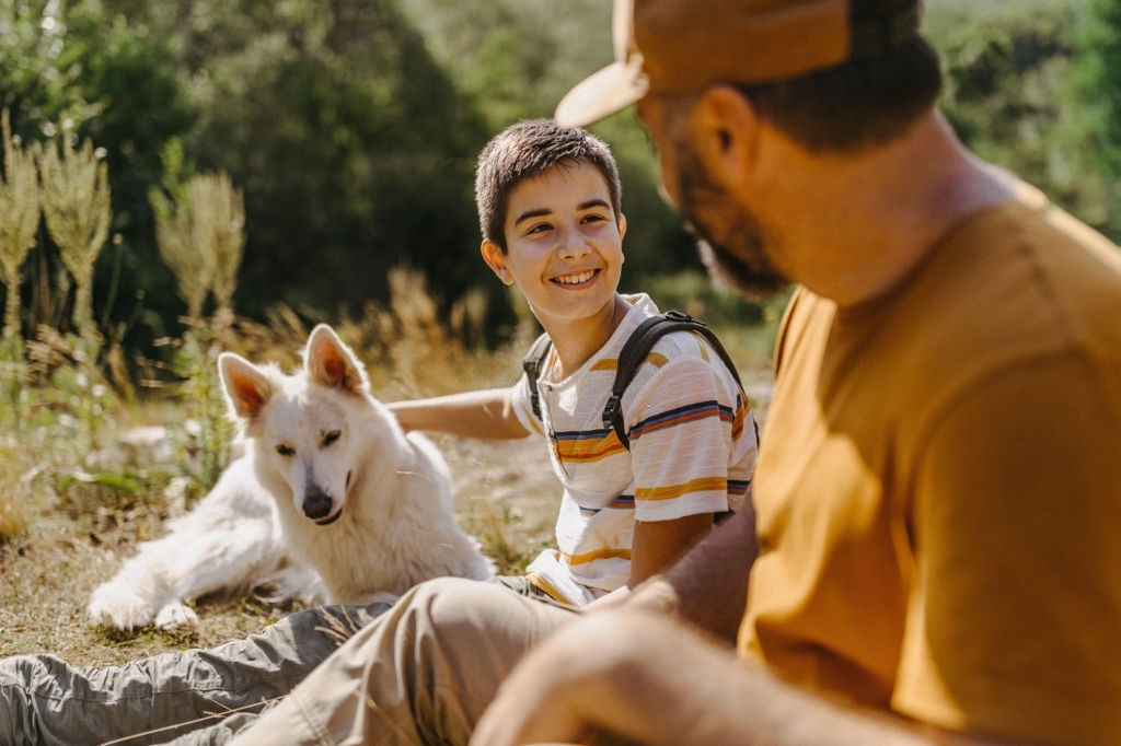Mental Health benefits with dogs